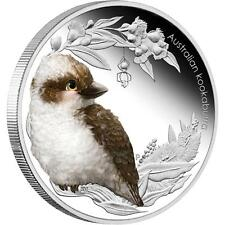 Australia 2012 50ct Australian Bush Babies Ii Kookaburra 1/2oz Silver Proof Coin