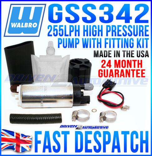 Walbro 255 Bomba De Combustible Apto Opel Vauxhall Astra 2.0i 91-98