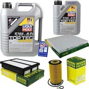 Inspection-Kit-Filter-LIQUI-MOLY-Oil-6L-5W-40-For-Kia-Sportage-Ever-2-0-Crdi