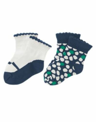 NWT GYMBOREE We Have Arrived 2 pack of socks Size 18-24 months