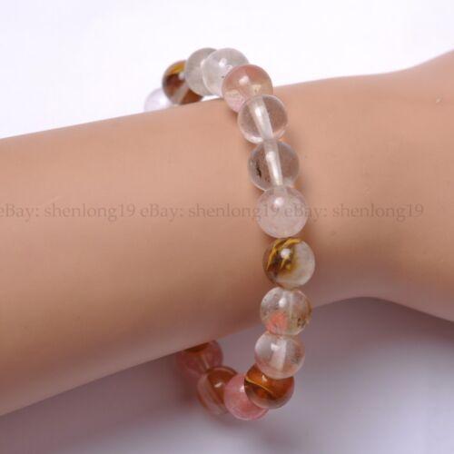 lot 8MM Natural Gemstone Round Beads Stretchy Bracelets Wholesale