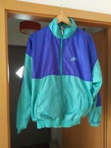 Details zu Nike Vintage Trainings Jacke Windbreaker Sport Nylon 90 er Gr.M