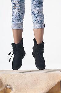 Image is loading Genuine-Australia-SHEARERS-UGG-Boots-Rubber-Sole-Sheepskin-