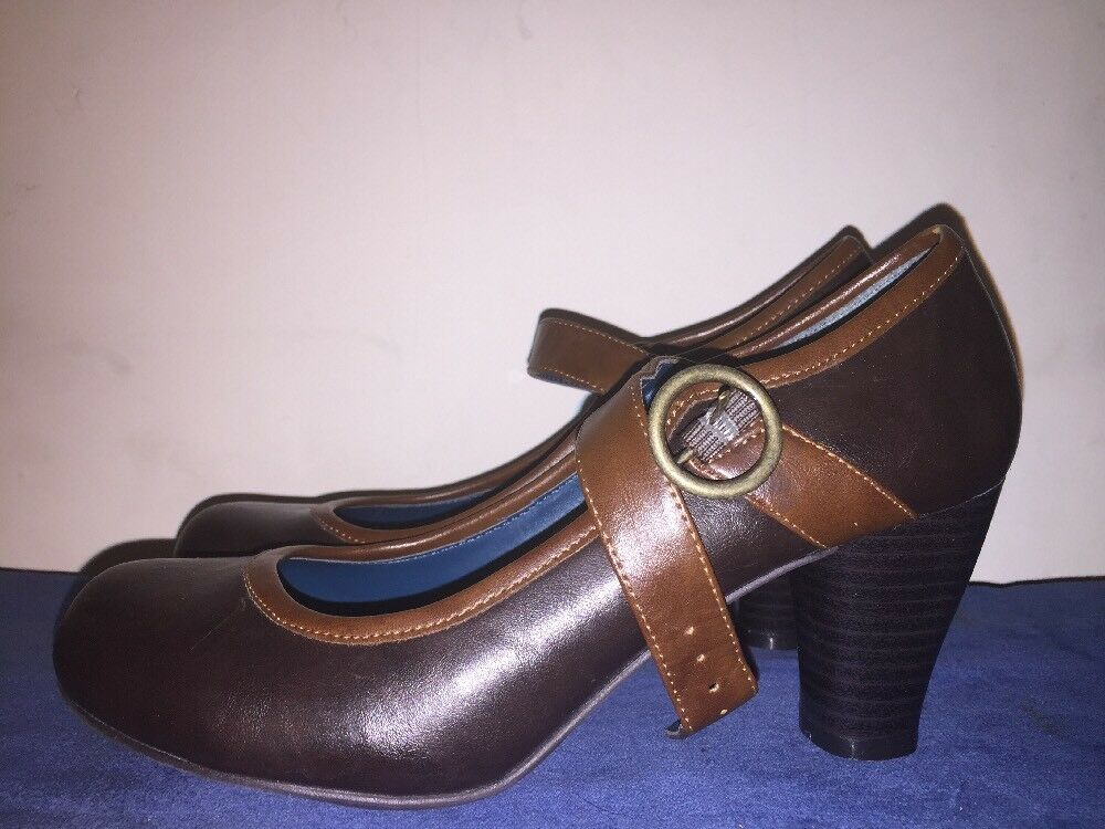 Vintage CANDIE'S Sexy Platforms Mary Mary Mary Janes Wedges HIGH HEELS Womens shoes Sz 6.5 0315c8