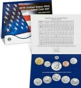 2019-P-Uncirculated-Set-Sealed-Mint-OGP-10-Coins-in-sealed-set-Philidelphia-Set
