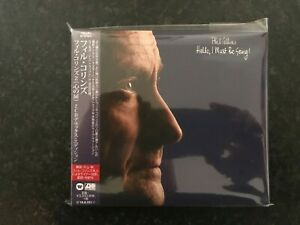 Phil-Collins-Hello-I-Must-Be-Going-Deluxe-Japan-CD-Sealed-Rare