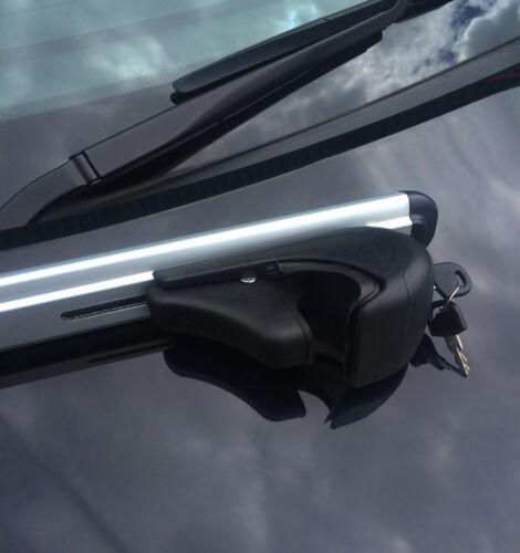 Cross Bars For Roof Rails To Fit Porsche Cayenne 2012+ 100KG Lockable