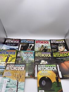 Lot of 10 Alfred Hitchcock Mystery Magazines 2011 Complete Year