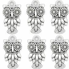 FREE SHIP 20PCS Tibetan Silver Owl Charms pendant 22x12MM JK0146
