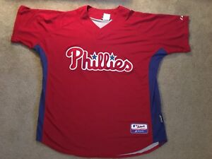 sports shoes 7c7ac 458ad Details about Ryan Howard Philadelphia Phillies Jersey Mens XL