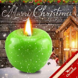 Green-Apple-Shape-Fruit-Scented-Candle-Home-Decoration-Christmas-Candle-RA