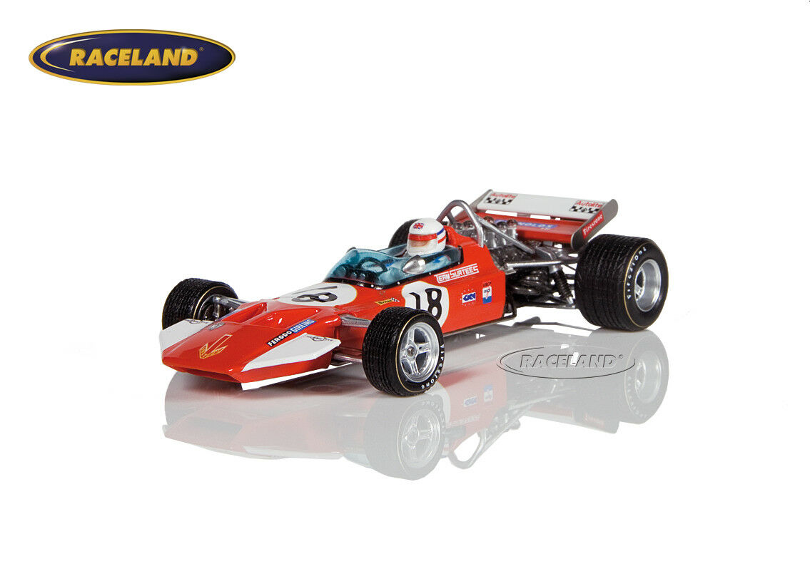 Surtees ts7 Cosworth v8 f1 6 ° GP USA 1970 Derek Bell, SPARK 1 43, s5401