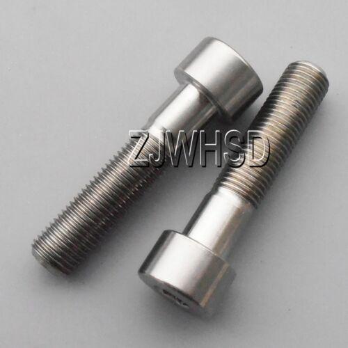 2pcs M9 x 40 Titanium Ti Screw Bolt Allen hex Socket Cap head Aerospace Grade