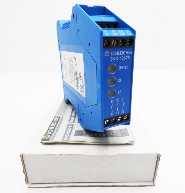 SCHLEICHER SNO 4062K-A USED Sicherheitsschaltgerät