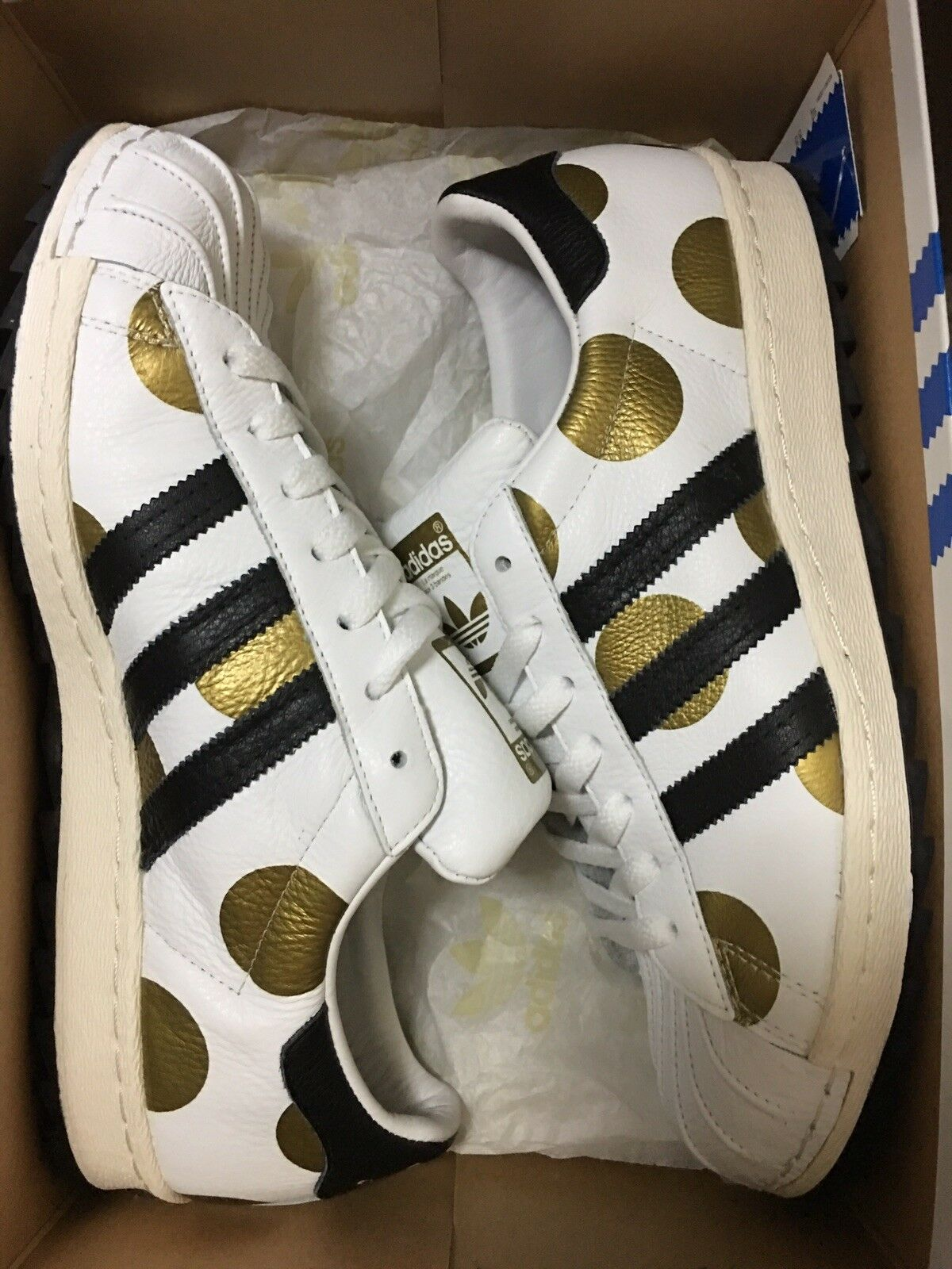 Adidas Superstar Jeremy Scott 80s Ripple Size 10