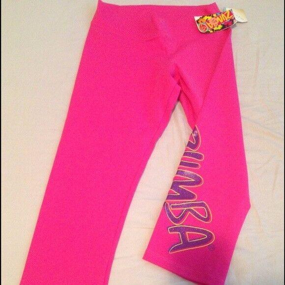 NWT Zumba Capris Leggings Size XS