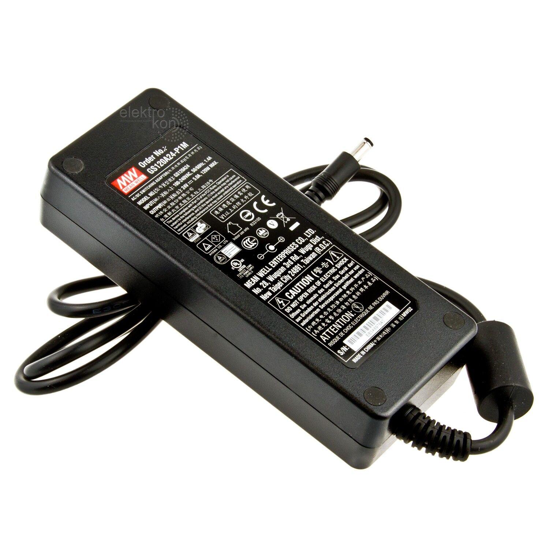 Mean Well GS120A24-P1M Tisch-Netzteil 24Vdc   5A   120W   IP41