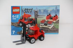 Lego-City-7898-Cargo-Train-Deluxe-Crane-Truck-Split-de-Set-no-printemps