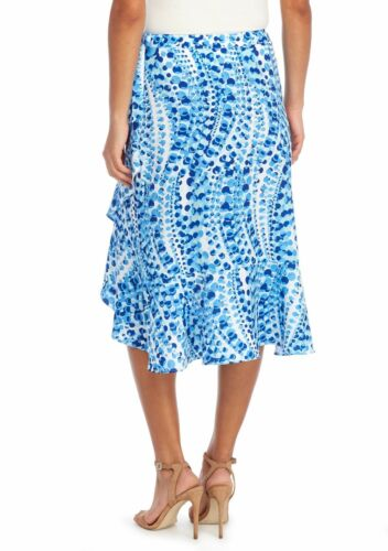 THE LIMITED® 10 14 Knee Length Ruffle Front Skirt NWT $69