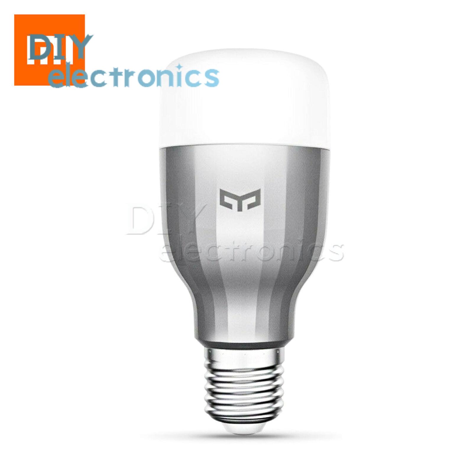 Xiaomi Yeelight E27 Smart LED Color Bulb RGB WIFI Control Night Light Certified