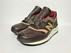 mirar televisión General manzana  New Balance M997PAH Made In The USA Brown Horween Leather Men's Size 6 New  | eBay