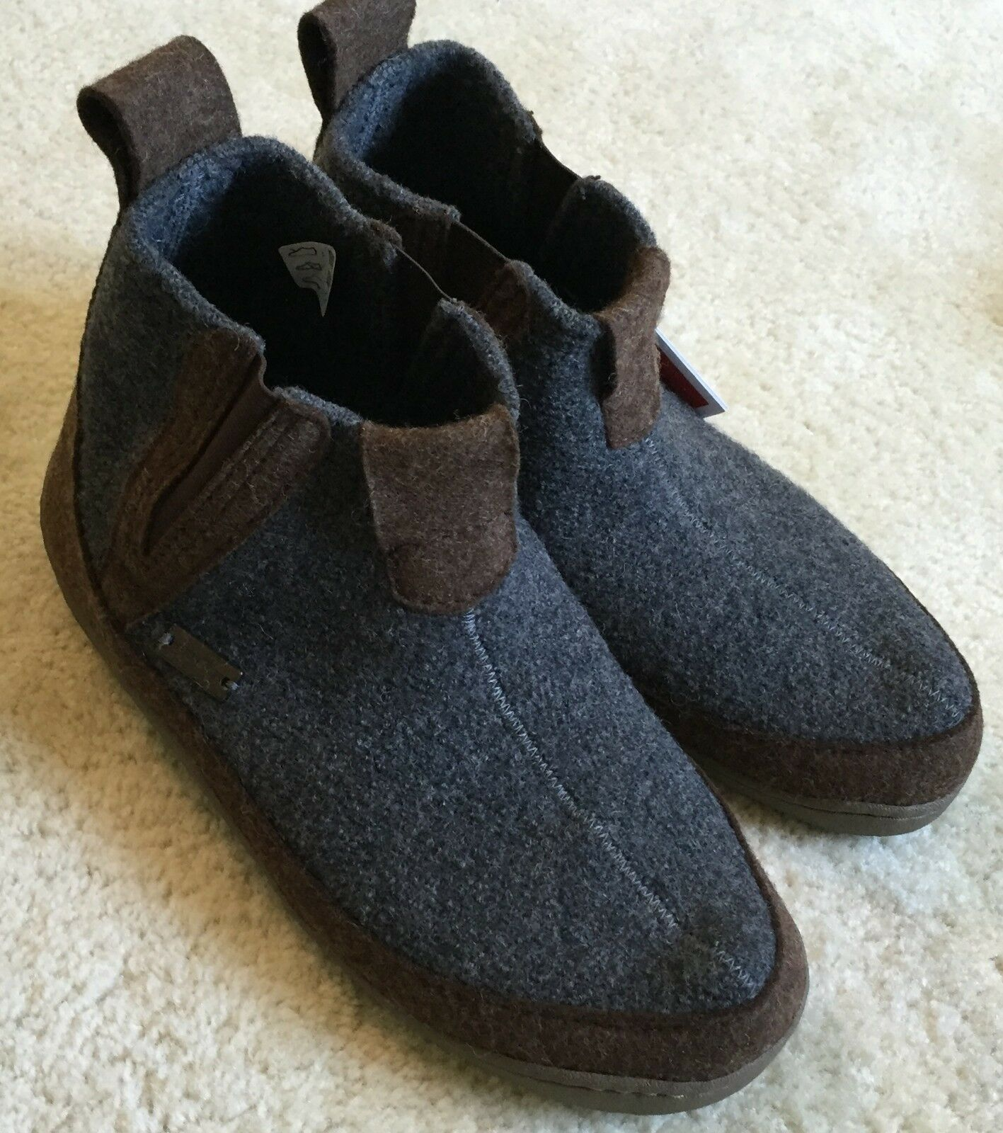 Unisex Women's Haflinger Wool Slip On Booties Slippers 42    W 11   M 9  NWT  126 7c22eb