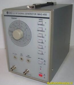 RF-Signal-Generator-MAG-450-Generatore-High-Frequency