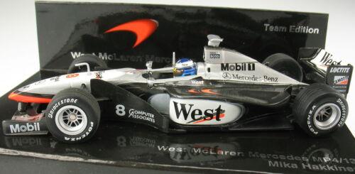 hakkinen-Team Edition Minichamps-f1 West mclaren mercedes mp 4-13 1:43