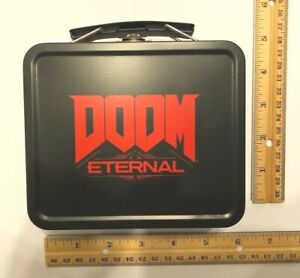 New-Doom-Eternal-Lunch-Box-Tin-Pre-Order-Bonus-ONLY-NO-GAME-PS4-Xbox-One-PC