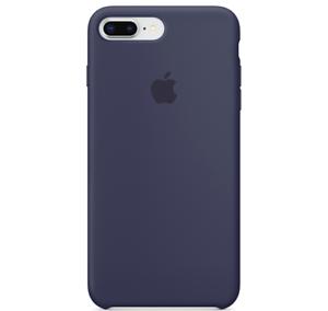 iPhone-8-7-PLUS-Apple-Original-Echt-Silikon-Schutz-Huelle-Mitternachtsblau