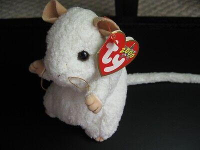 2000 Ty Beanie Baby Cheezer Die Maus Mit Preisschildern! Dob May 9 Plüschtier