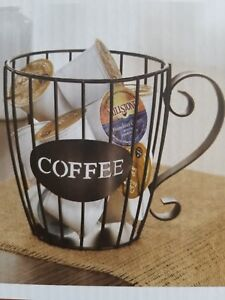 Chef-039-s-Best-Coffee-Pod-K-Cup-Keeper-Metal-034-Free-US-Priority-Mail-Shipping-034