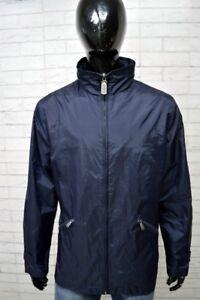 Giubbino-GAS-Uomo-Taglia-Size-L-Giacca-Giubbotto-Imbottita-Blu-Man-Jacket