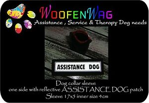 NEW-assistance-dog-Reflective-collar-sleeve