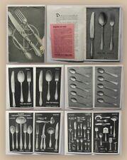 Rheingold Silberwarengesellschaft W.A. Keune Mettman ca 1930 Besteckkatalog xy