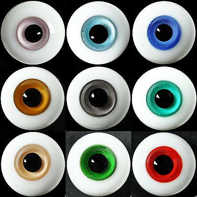 New 18mm Dark Blue Glass BJD Eyes for DOD DZ AOD Volks Reborn Doll luts