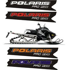 POLARIS RUSH PRO RMK 600 700 800 INDY ASSAULT 121 155 163 TUNNEL DECAL STICKER a