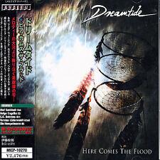 DREAMTIDE HERE COMES THE FLOOD JAPAN CD BONUS TRACK OBI FAIR WARNING