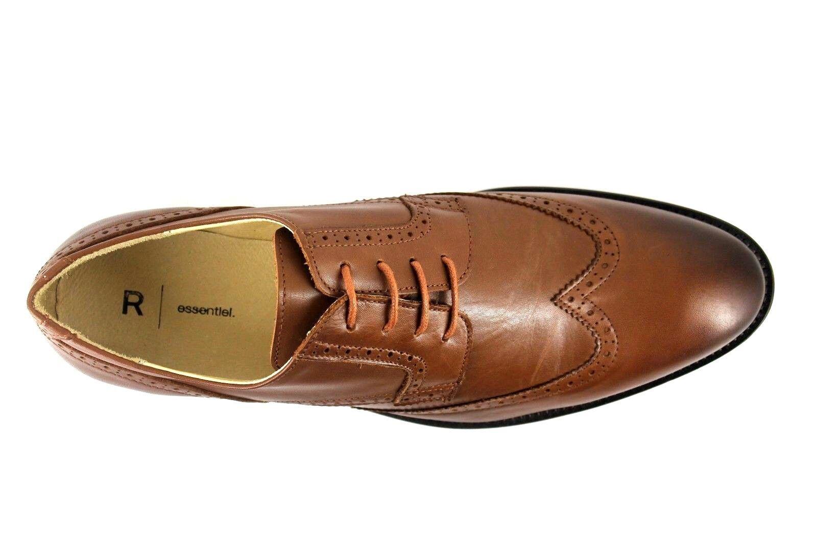 La ROToute EU  Uomo UK 9 EU ROToute 43 Braun Leder Lace Up Brogue Schuhes Smart Formal Work 348c2c