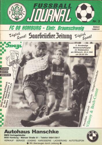 22.08.1990 BL 90/91 FC Homburg Eintracht Braunschweig II