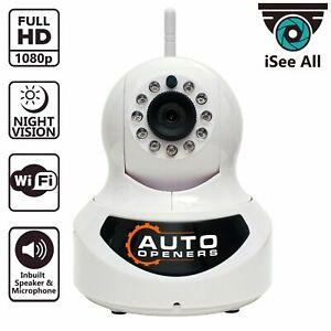 Neues iSeeAll Wifi Kamera Smartphone Control Receiver Security Kit Ultimate Pro