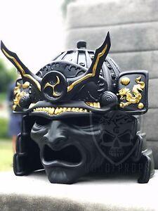 Samurai Mask Nobunaga Armor HQ Resin