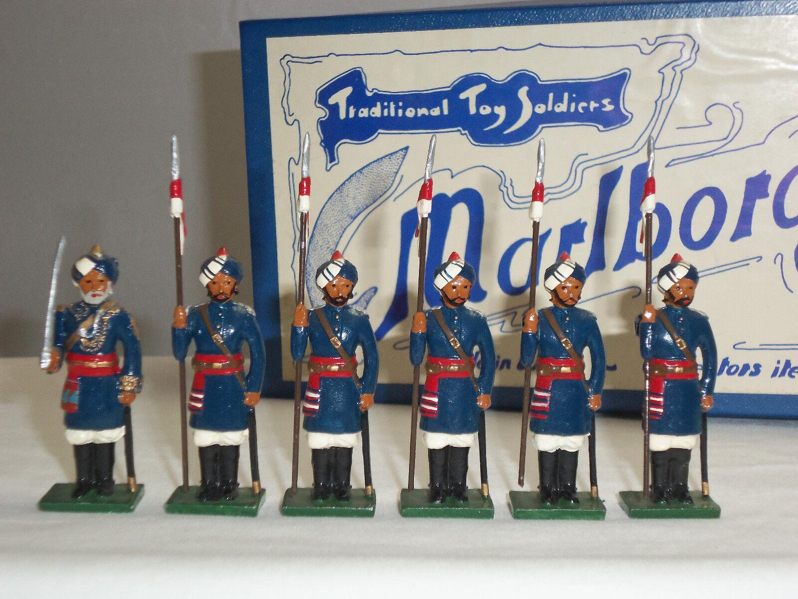 MARLBgoldUGH MF17 15TH BENGAL LANCERS INDIAN ARMY DELHI DURBAR TOY SOLDIER SET