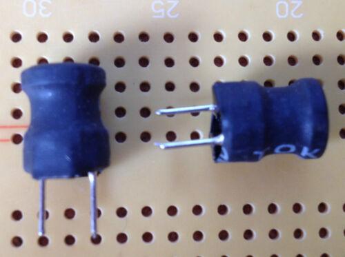 8.2mH 50mA 26Ω Ferrite Leaded Inductor Open Core Choke ±5/% Tol Toko 187LY-822J