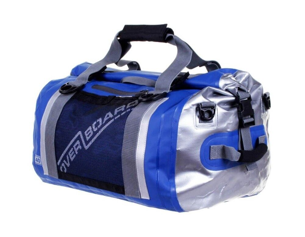 Overboard Waterproof Duffle Bag pro 40 Litre bluee, New Reduced