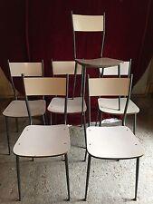 Lotto 6 Sedie  Chairs Salvarani Anni 50 Modernariato