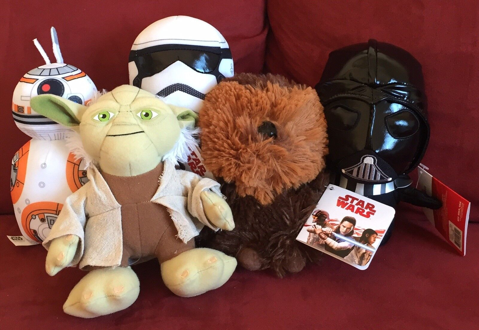 Kohls Cares Kohl's Lot Star Wars Yoda Chewbacca Storm Trooper BB8 R2D2 New Tags