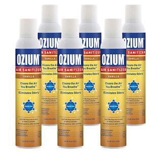 Ozium-Air-Sanitizer-8-oz-Spray-Cleans-Air-Eliminates-Odors-Vanilla-Scent-6-PK