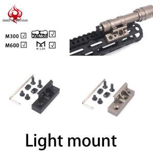 Night-Evolution-Light-Mount-For-M300-M600-Flashlight-Mount-Keymod-MLOK-SYSTEM