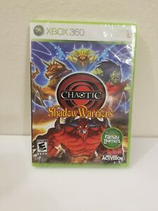 CHAOTIC-SHADOW-WARRIORS-XBOX-360-GAME-MICROSOFT-FACTORY-SEALED-BRAND-NEW